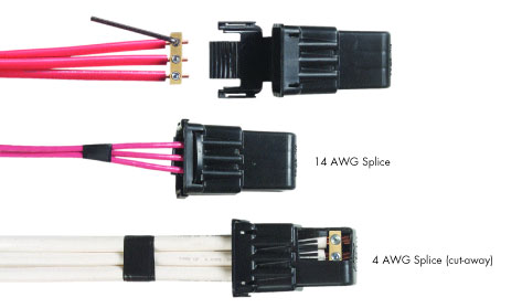 Tracerwire - Direct Burial Splice Kit | 3 Conductors | 14 – 4 AWG