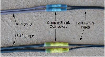 Typical installation & Crimp-n-Shrink Connectors azcodes.com